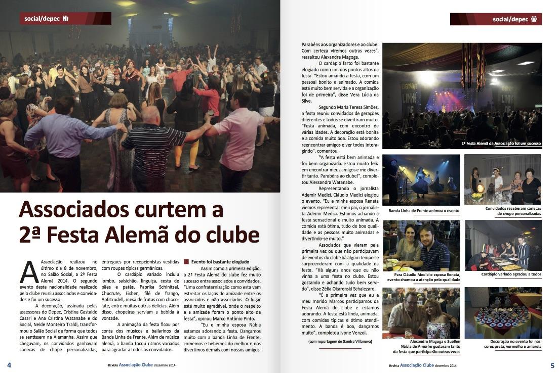 Revista - Associação Clube